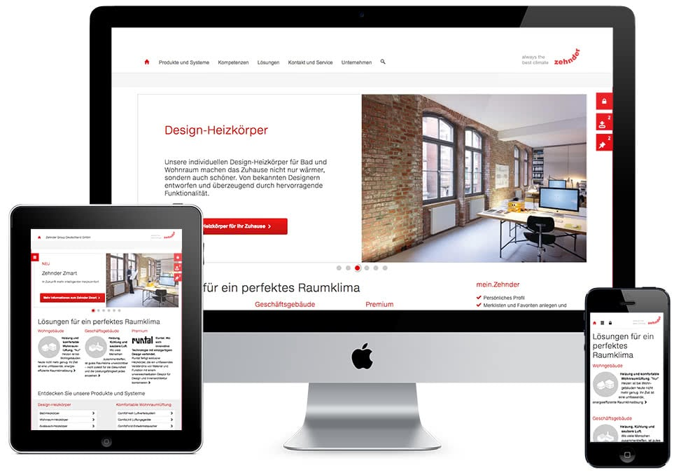Zehnder Systems Group Web